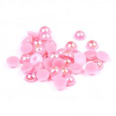 Жемчуг для дизайна ногтей розовый