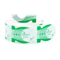 EzFlow Формы для наращивания ногтей зеленые 500 шт