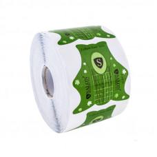 SALON Формы для наращивания ногтей (зеленые) 500 шт.