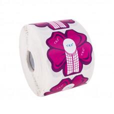 YRE Форма Цветок для наращивания ногтей (красная), 500 шт.