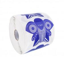 YRE Форма Сова для наращивания ногтей (фиолетовая), 500 шт.