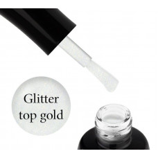 LUXTON GLITTER TOP GOLD 10ML