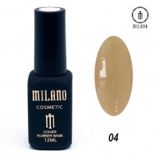 Milano Cover rubber Base Gel 12ml №04