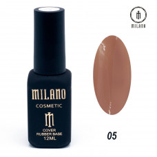 Milano Cover rubber Base Gel 12ml №05