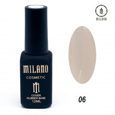 Milano Cover rubber Base Gel 12ml №06