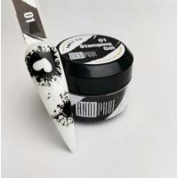 ANDI Гель-краска для стемпинга (черная)