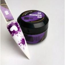 ANDI Гель-краска для стемпинга (фиолетовая)