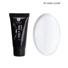 Saga Professional Poly gel 2 Clear