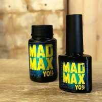 YO!Nails Mad Max Top Coat no wipe with UV filter