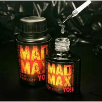 YO!Nails Mad Max Top Coat no wipe no UV filter