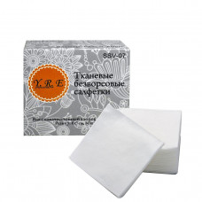 YRE Безворсовые салфетки 6*7 см, 80 шт тканевые